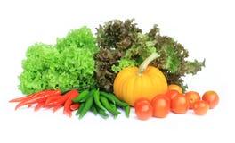 isolate świezi warzywa Fotografia Royalty Free