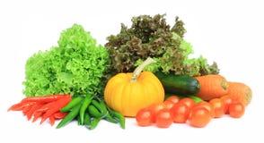 isolate świezi warzywa Zdjęcie Royalty Free