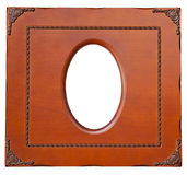 Isolate Wooden frame Stock Photos