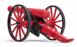 Free Isolated 3D Old Canon Illustration Stock Photo - 73504980