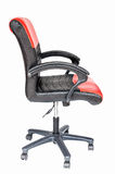 Isolated adjustable leather chair Stock Image