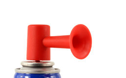 Isolated air horn Stock Photo