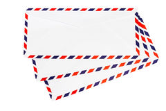 Isolated airmail envelope Royalty Free Stock Photo