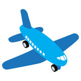 Isolated airplane toy Royalty Free Stock Photos