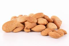 Isolated almond Stock Photo