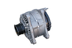 Isolated alternator Royalty Free Stock Photos