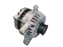 Isolated alternator / generator stock photos
