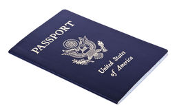 Isolated American Passport Royalty Free Stock Photos