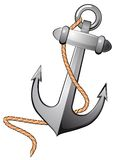 Isolated anchor Stock Image