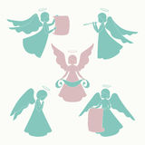 Isolated angels Stock Photo