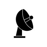 Isolated antenna design. Antenna icon. Signal broadcast internet and technology theme. Isolated design. Vector illustration Royalty Free Stock Photo