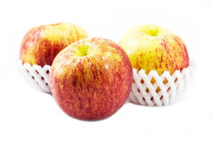 Isolated Apples. Photo of Apples on White Background Royalty Free Stock Photography