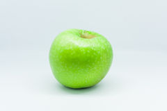 Isolated apples. Isolated one green apple, fruit Royalty Free Stock Photos