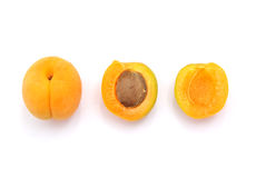 Isolated apricot Stock Image