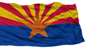 Isolated Arizona Flag, USA state Royalty Free Stock Photo