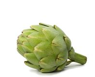 Isolated Artichoke Royalty Free Stock Photography