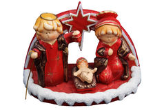 Isolated baby jesus nativity tradition Stock Images