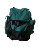 Isolated backpack Stock Image