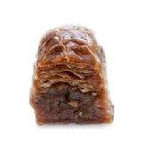 Isolated baklava delicacy Royalty Free Stock Photo