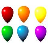 Isolated balloons Stock Photo