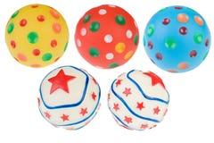 Isolated balls Royalty Free Stock Photos
