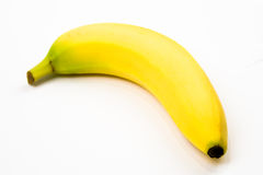 Isolated Banana Royalty Free Stock Photography