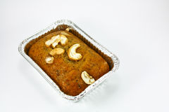 Isolated banana bread Royalty Free Stock Image