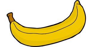 Isolated Banana Cartoon Stock Photography