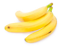 Isolated bananas Royalty Free Stock Photos