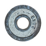 Isolated Barbell Weight Stock Image