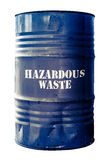 Isolated Barrel Of Hazardous Waste Stock Image
