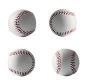 Isolated base ball set on white background close up Royalty Free Stock Photography