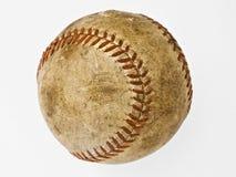 Isolated Baseball. Used baseball isolated on a white background Stock Image