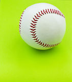 Isolated baseball Stock Image