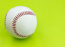 Isolated baseball Royalty Free Stock Photo