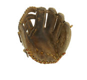 Isolated Baseball Glove Royalty Free Stock Images