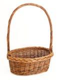 Isolated Basket Stock Photography