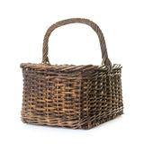 Isolated basket Stock Photo