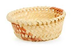 Isolated basket on white Royalty Free Stock Photography