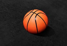 Isolated basketball Royalty Free Stock Photography