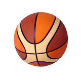 Isolated basketball Stock Images