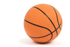 Isolated Basketball Royalty Free Stock Image