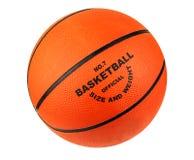 Isolated basketball ball Stock Photos