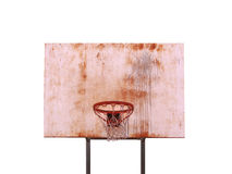 Isolated Basketball Hoop Royalty Free Stock Photo