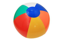 Isolated beach ball Stock Photo