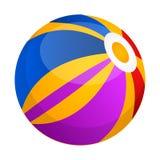 Isolated beach ball icon. Vector illustration design Royalty Free Stock Photos