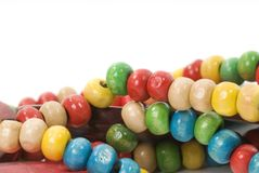 Isolated beads necklace Stock Photography