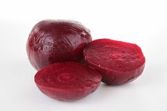 Isolated beet Royalty Free Stock Image