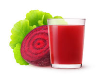 Isolated beetroot juice Stock Photos