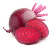 Isolated beetroot Stock Photos